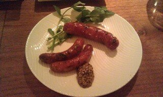 At Tapas Spanish Chorizo sausage