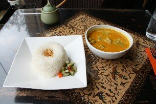Chicken Curry at Bali Putri Cafe Tokyo