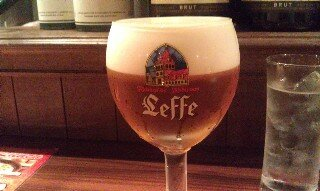 Leffe beer on tap at Beer Signal Tokyo