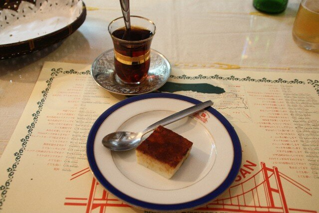 Bosphorus Hasan Turkish Restaurant dessert and tea