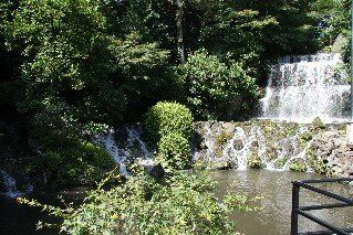 Chosyubaku Waterfall Chinzan-so