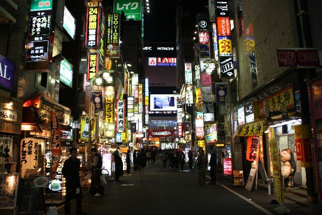 Kabukicho Tokyo Entertainment and Red Light District