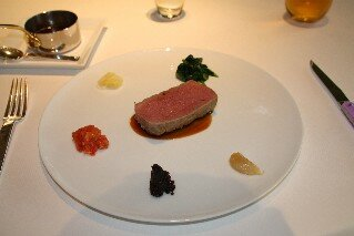 Michel Trois Gros French Restaurant veal main meal
