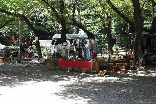 Markets at Yasukuni Shrine