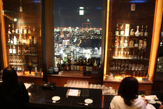 Views from Yuian Restaurant Shinjuku